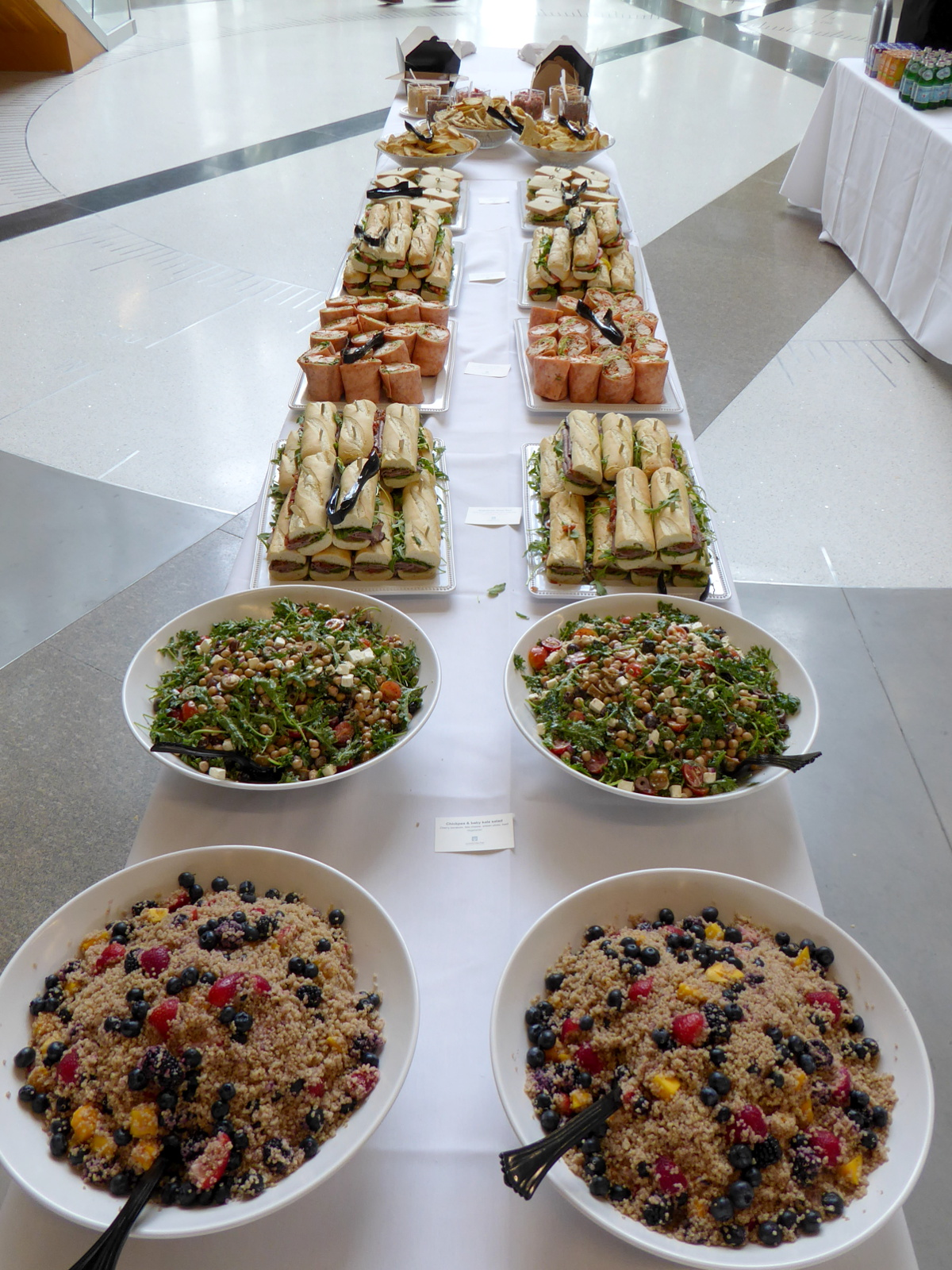 Photo of lunch buffet